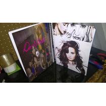 Caderno Demi Lovato 15 Materias