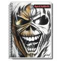 Caderno Iron Maiden 2015 - 1 (uma) Matéria