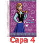 Caderno Frozen 10 Materias 200 Folhas Escolha Sua Capa