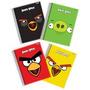 Caderno Espiral Angry Birds Feminino E Masculino 96fls