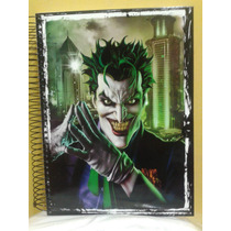 Caderno Do Coringa Novo- 10 Materias - 200 Folhas
