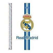 Caderno Universitário Capa Dura 1x1 Real Madrid 96fls