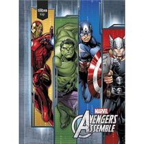 Caderno De Brochura Capa Dura 1/4 Top Avengers - Tilibra
