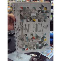 Caderno Pautado Para Música Estudo Partitura Oferta