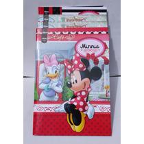 Caderno Brochura Capa Dura Universitário Minnie 96fls 5 Und