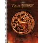 Caderno Espiral Cd Universitário 10 Matérias Game Of Thrones