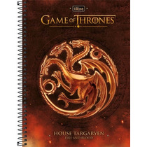 Caderno Espiral Cd Universitário 10 Matérias Game Of Thrones