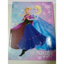 Caderno Brochurao Frozen Capa Dura 96 Folhas