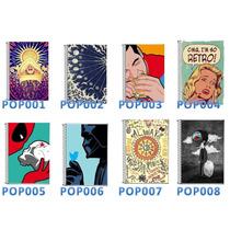 Pop Art -caderno Personalizado 20 Matérias