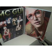 Caderno Mc Gui 10 Materias Lançamento Com Figurinhas