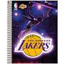 Caderno Nba Universitário Capa Dura 10 Matérias - Lakers