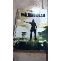 Caderno The Walking Dead 16 Materias Com Adesivos