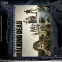 Caderno The Walking Dead - 10 Matérias - Com Adesivos