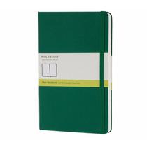 Caderno Moleskine Notebook Verde Sem Pauta Extra Peq 8488