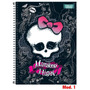 Caderno 10 Matérias Monster High Tilibra