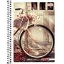 Caderno Universitário Capa Dura 16x1 Mais+ Feminino 320 Fls