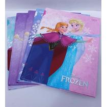 Caderno Brochura 96 Folhas Frozen Jandaia Pacotes C/5 Unid.