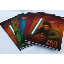 Caderno Brochurao 96 Folhas Star Wars Rebels Pacote C/ 5 Und