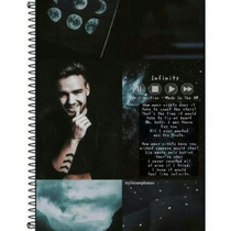 Caderno Liam Payne One Direction 1 Materia