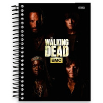 Caderno Espiral Capa Dura The Walking Dead 2016 96fls