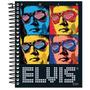 Caderno Elvis Presley 16 Materias