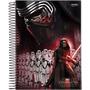 Caderno Universitário Star Wars Ep. Vii 10 Matérias 200fls