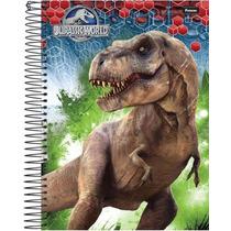 Caderno Escolar Jurassic World 10 Matérias Universitário