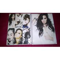 Caderno Demi Lovato 16 Materias