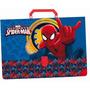 Maleta Plastica Spider Man - Homen Aranha - Oficio 40 Mm