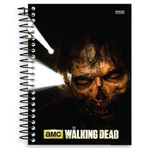 Caderno Universitário The Walking Dead 15 Matérias S Domingo