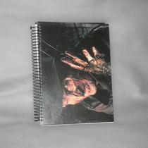 Caderno A Hora Do Pesadelo - 10 Matérias - Com Adesivos