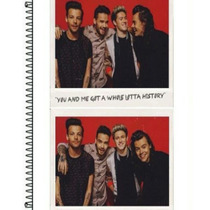 Caderno Personalizado Combo One Direction