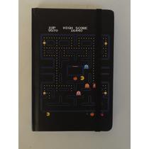 Caderneta Caderno Anotações Rascunho Pac-man Pacman Pac Man