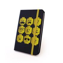 Caderneta Caderno Anotações Rascunho Tema Bonecos Amarelos