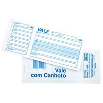 Talão Vale C/ Canhoto 50 Folhas - Pct. 20