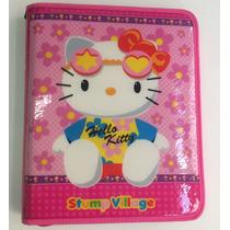 Fichario Hello Kitty (caderno Universitário Argolado-zipper)