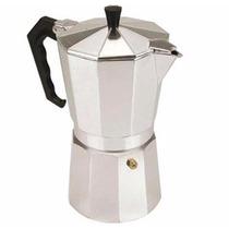 Cafeteira Italiana 6 Doses Em Alumínio Polido Café Coffee