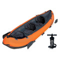 Caiaque Inflável Hydro-force 200kg Remos Bomba Bestway Canoa