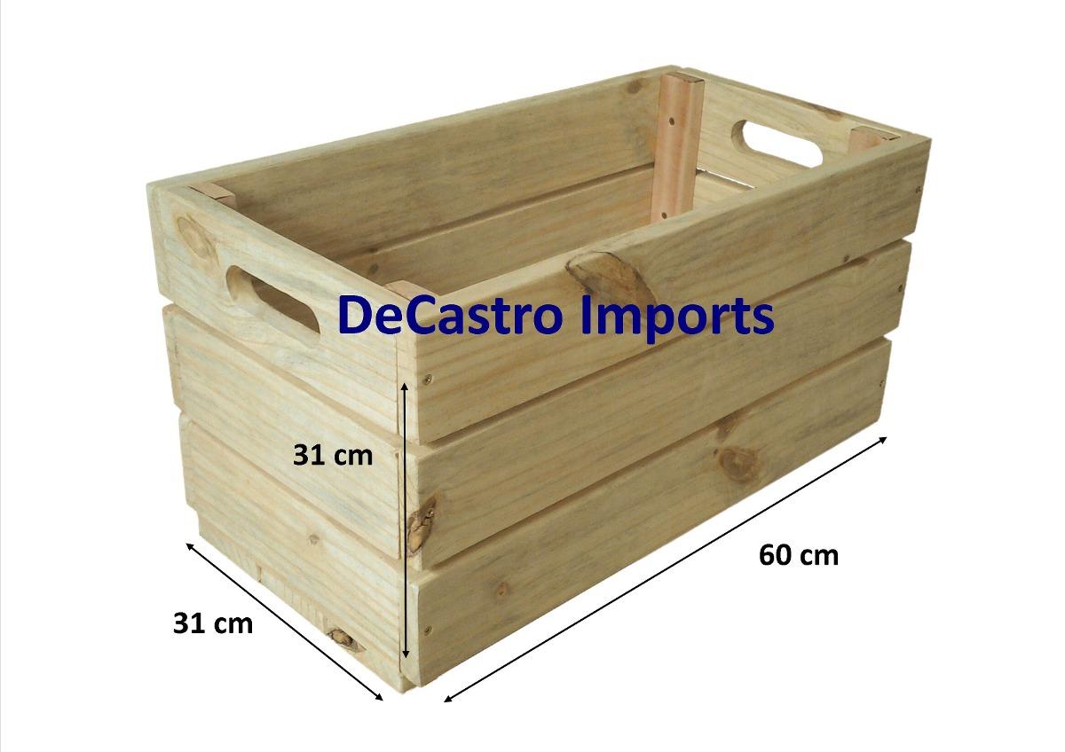 Caixa Caixote De Feira Novo Madeira Ecológica Decoração R$ 59  #171476 1200x848