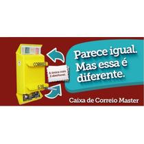Caixa Plastica,correio,revistas,jornal,master, Para Grade