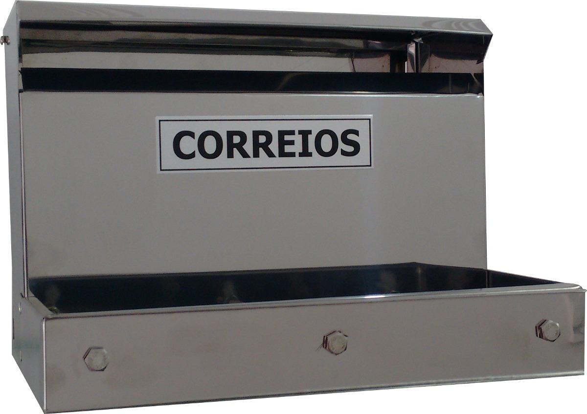 Caixa De Correio Em Aço Inox Para Grade R$ 105 00 no MercadoLivre #1B1C20 1200 847