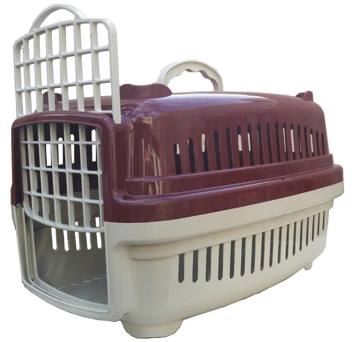 Caixa De Transporte Caes Ou Gatos N. 1 5 Cores Disponiveis R$ 29  #613D43 1200x1164