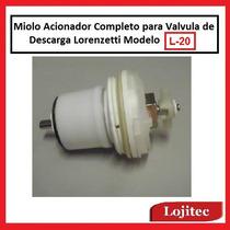 Miolo Acionador Completo P Valvula Descarga Lorenzetti L20
