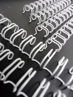Caixa Espiral Garra Duplo Anel Wire-o 3x1 A4 3/8 60 Fls