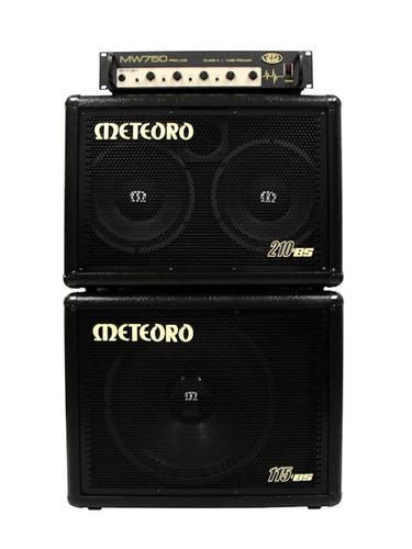 Caixa Meteoro 210 Bsw Para Cabeçote 2x10 300w - Mw 250/750