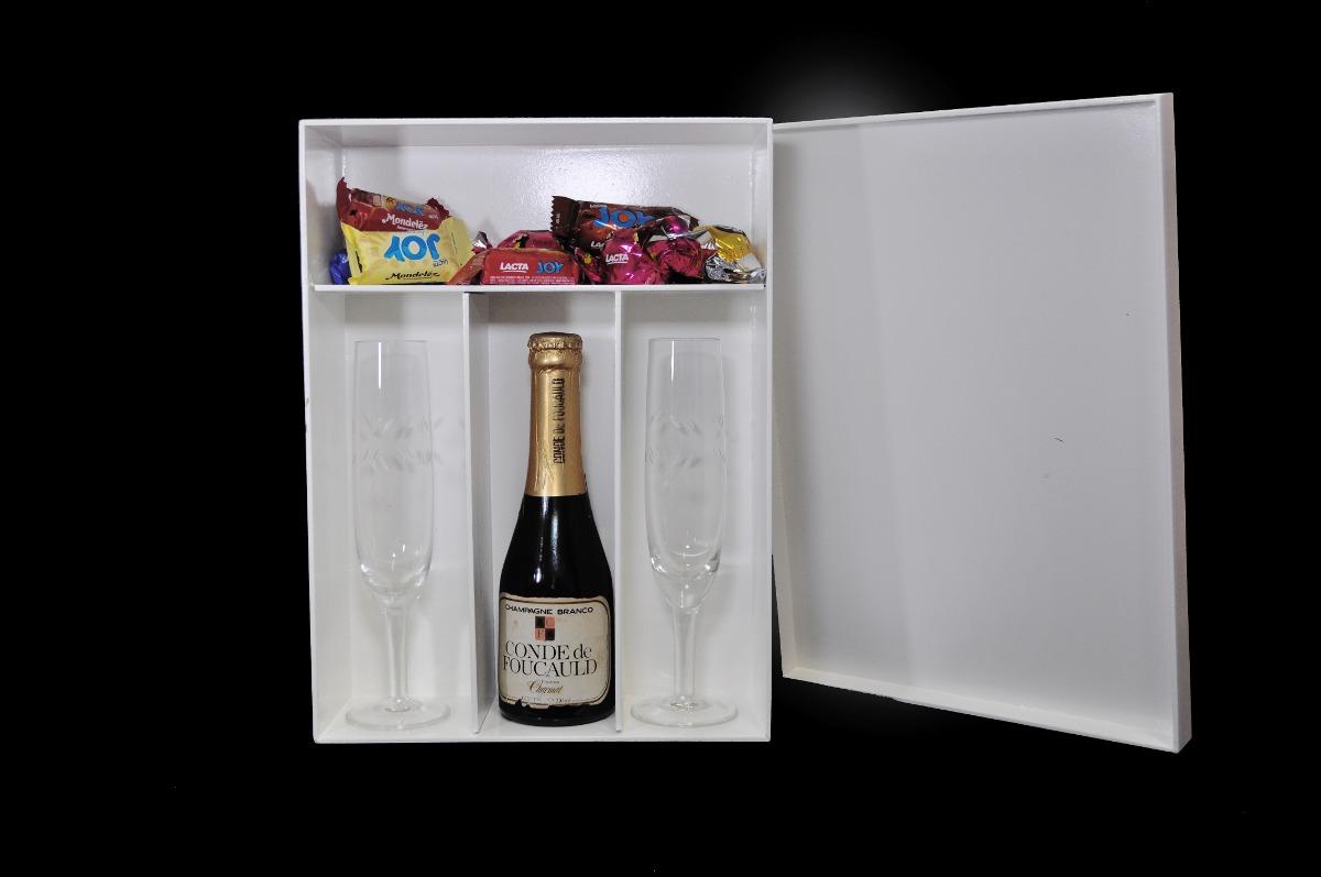 Caixa Para 2 Taças E 1 Vinho (mini) Decorad Madeira Mdf R$ 21  #753536 1200x797