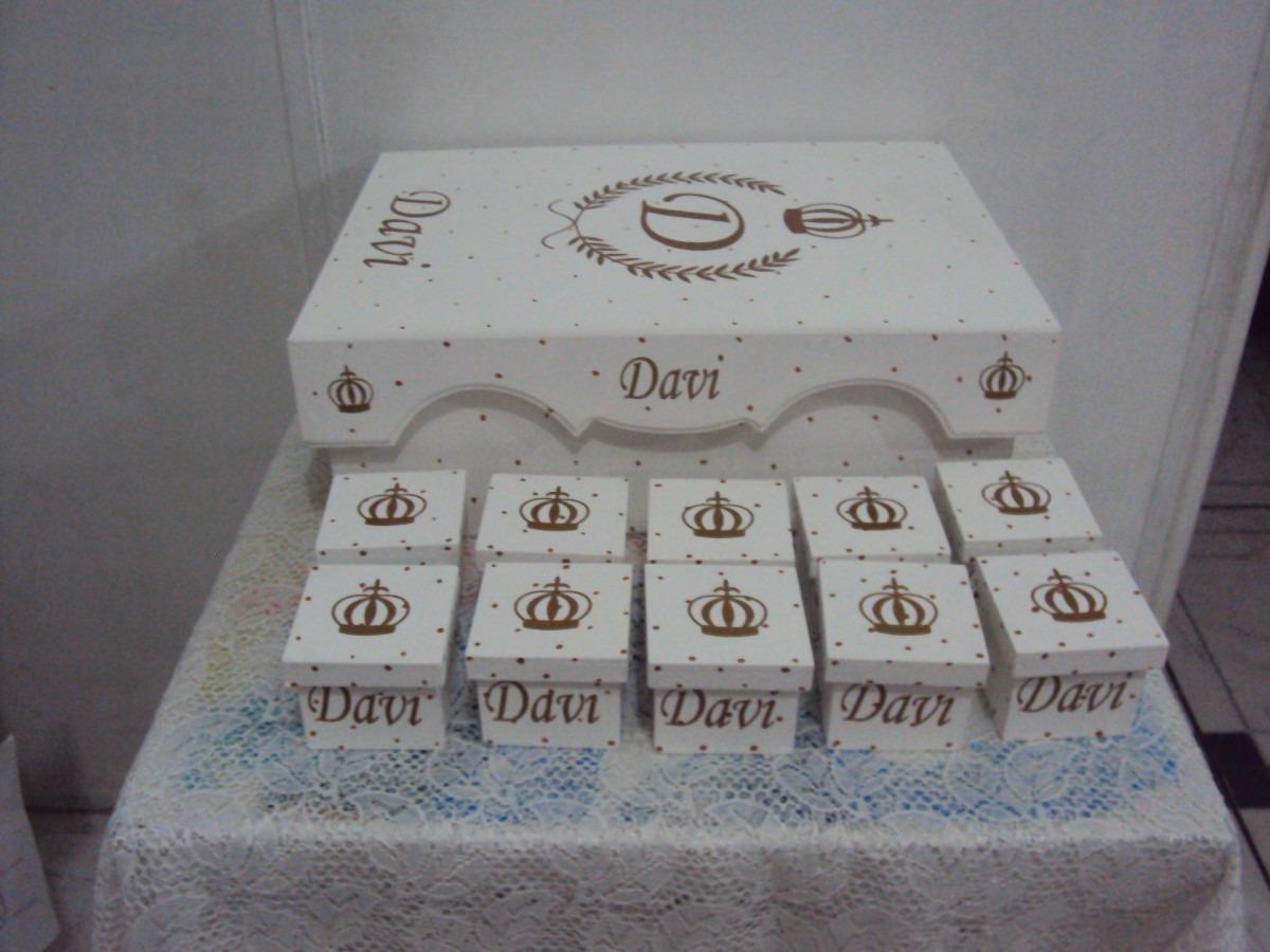 Caixa Para Guardar Lembrancinha Maternidade Coroa Em Mdf R$ 75 00 no  #594E4C 1200x900