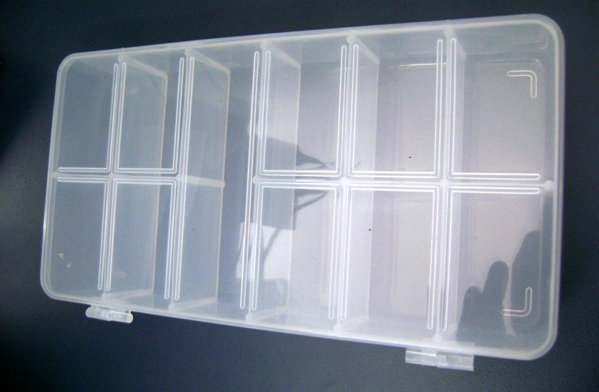 Caixa Plástica Organizadora 11 Divisórias R$ 8 00 no MercadoLivre #1E2833 1200x786