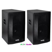 Kit Caixa Ativa + Passiva 400 Watts Rms W12-250 Master Jbl