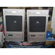 Caixas Acusticas Motoradio Original Stereo Mp3 Ipod Radio